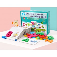 English Puzzle Letter Card